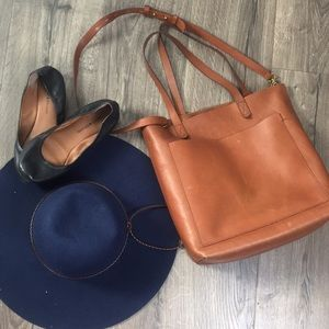 Madewell Leather Tote ~ NWT!!